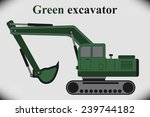 the excavator. machine for... | Shutterstock .eps vector #239744182