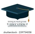 education design over white...   Shutterstock .eps vector #239754058