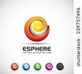 an attractive e sphere vector...