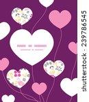 vector abstract pink  yellow... | Shutterstock .eps vector #239786545