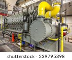 this diesel generator uses a... | Shutterstock . vector #239795398