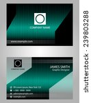 abstract business card  | Shutterstock .eps vector #239803288
