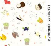 superfoods pattern. vector eps...   Shutterstock .eps vector #239807515