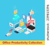 vector office productivity and