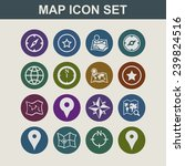navigation icons | Shutterstock .eps vector #239824516