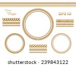 vector rope template | Shutterstock .eps vector #239843122