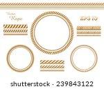 vector rope template | Shutterstock .eps vector #239843122