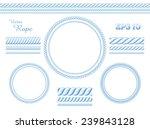 vector rope template   Shutterstock .eps vector #239843128