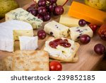 Cheese Platter With Crackers...