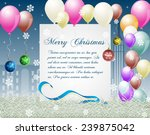christmas celebration with new... | Shutterstock .eps vector #239875042