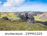 stones of the easter island ... | Shutterstock . vector #239901325