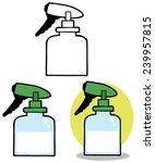 gardening tool gardening... | Shutterstock .eps vector #239957815