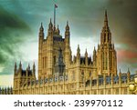 houses of parliament  london ... | Shutterstock . vector #239970112