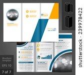 geometric vector brochure... | Shutterstock .eps vector #239978422