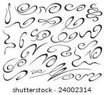 decorative elements | Shutterstock .eps vector #24002314