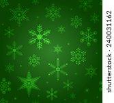 winter vector seamless... | Shutterstock .eps vector #240031162