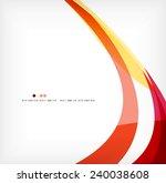 business wave corporate...   Shutterstock . vector #240038608
