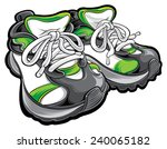 shoes | Shutterstock .eps vector #240065182