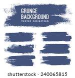 black ink vector stains | Shutterstock .eps vector #240065815