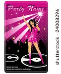 flyer for party | Shutterstock .eps vector #24008296