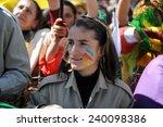 hakkari turkey   march 21 ... | Shutterstock . vector #240098386
