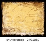 stained vintage looking... | Shutterstock . vector #2401087