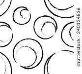 seamless grunge ring... | Shutterstock . vector #240134836