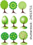 trees | Shutterstock .eps vector #24013711