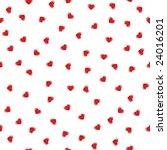 seamless heart background | Shutterstock .eps vector #24016201