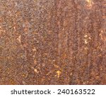 rusty iron for background | Shutterstock . vector #240163522