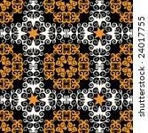 baroque decorative pattern | Shutterstock .eps vector #24017755