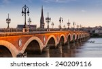 View Of The Pont De Pierre At...