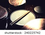 drums conceptual image. picture ... | Shutterstock . vector #240225742