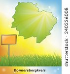 Map of Donnersbergkreis