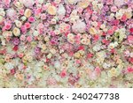 Stock photo flower bouquets bunch of flowers 240247738