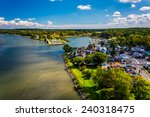 View Of Chesapeake City From...