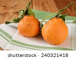 Sumo Oranges With Leaves  A...