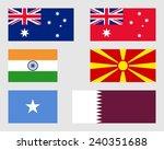 australian  indian  macedonian  ...   Shutterstock .eps vector #240351688