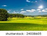 vibrant image of rural landscape | Shutterstock . vector #24038605