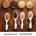Mustard Seeds  Powder And Sauc...