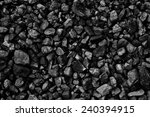 coal mine deposit mineral black | Shutterstock . vector #240394915