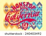 california graphic design... | Shutterstock .eps vector #240403492