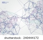 abstract background on network... | Shutterstock .eps vector #240444172