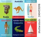 Australia Mini Poster Set With...