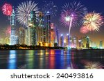 New Year Fireworks Display In...