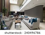 hotel lobby cafe    Shutterstock . vector #240496786