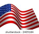 flag the usa | Shutterstock . vector #2405184