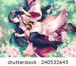 Kimono Girl  1