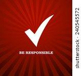 voting symbols vector design | Shutterstock .eps vector #240545572