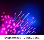 optical fibres. vector... | Shutterstock .eps vector #240578158